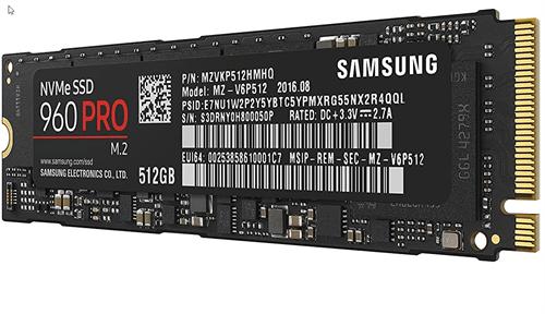 Samsung NVMe SSD