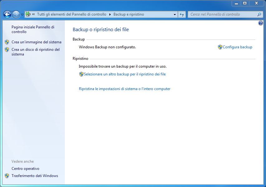 Create a System Image in Windows 8