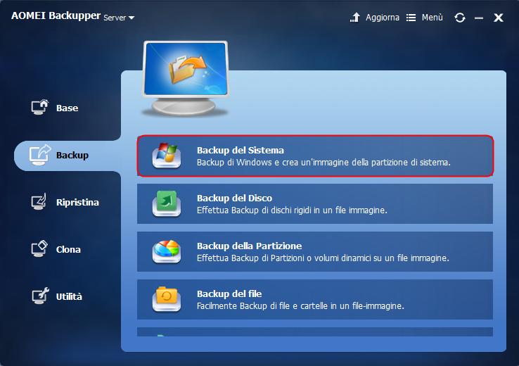 System Backup