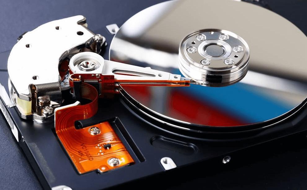 ハードディスク内部