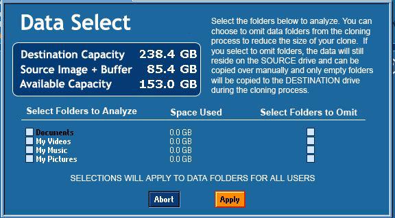 データ選択