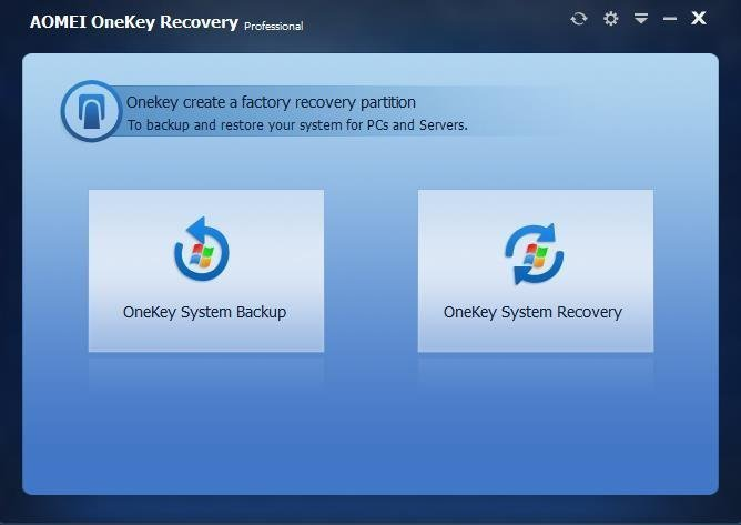 Acer eRecovery Management Problems