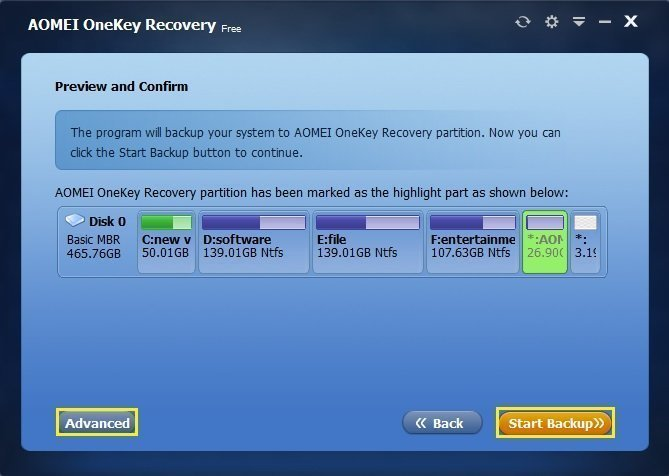 how to use lenovo onekey recovery windows 10