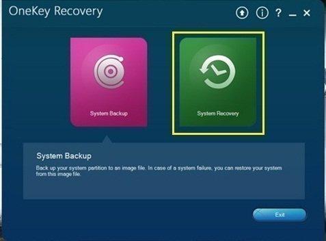 Lenovo Onekey Recovery 8.0