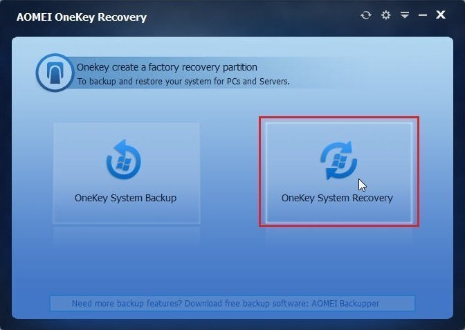 How to Recover System If No Dell Factory Image Restore Option?