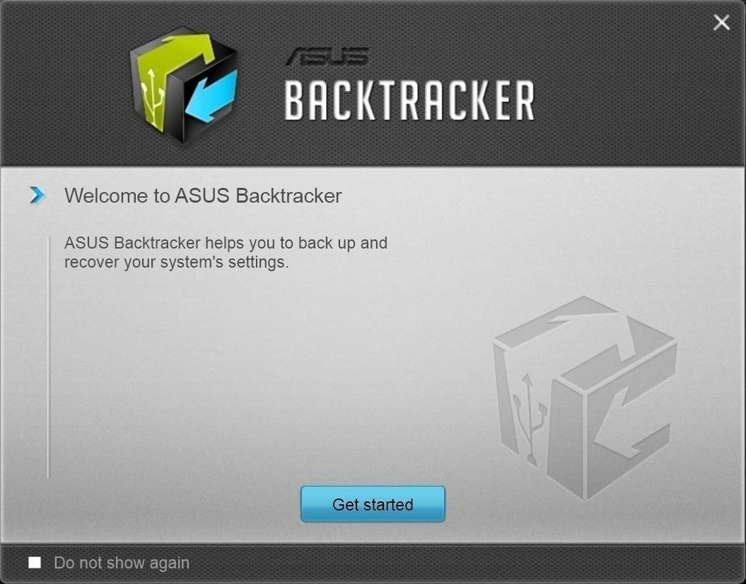 Asus Backtracker