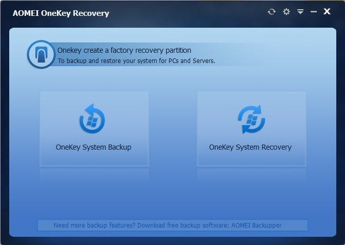 What is OneKey Recovery and Its Feature?
