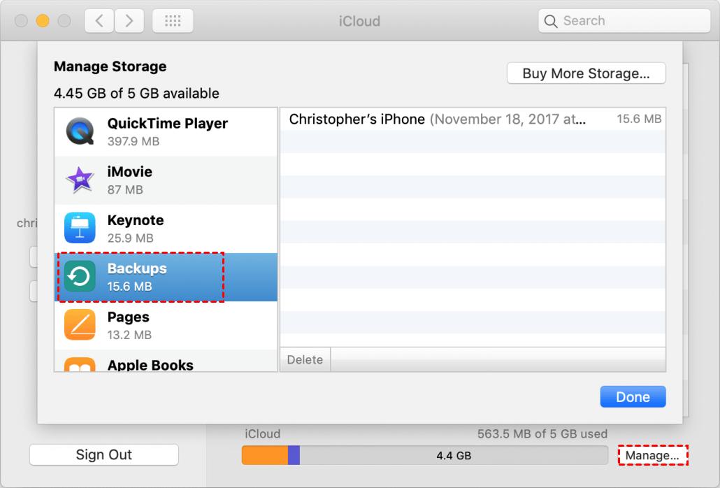 Locate Backup Files Mac