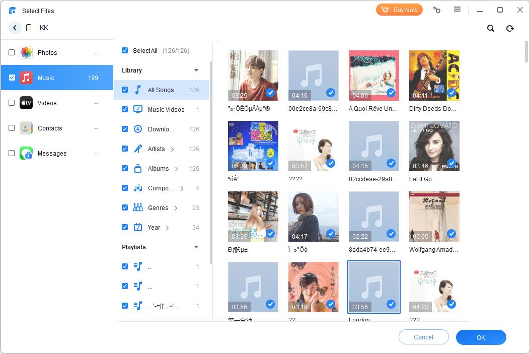 Select Songs