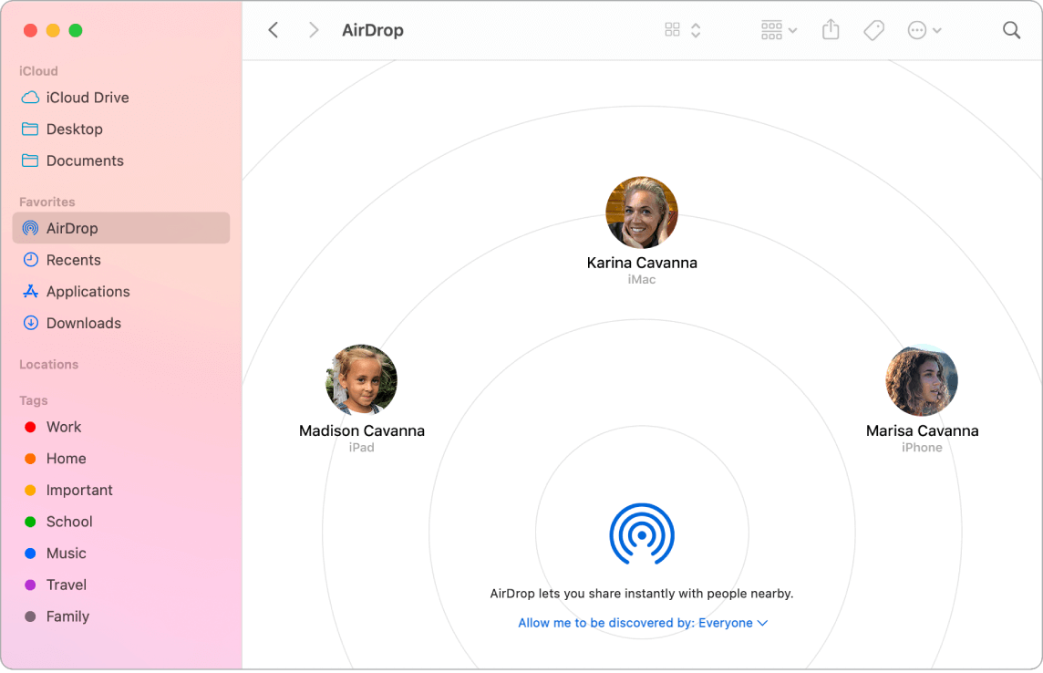 Choose User Name on Mac