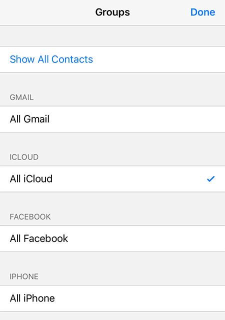All iCloud