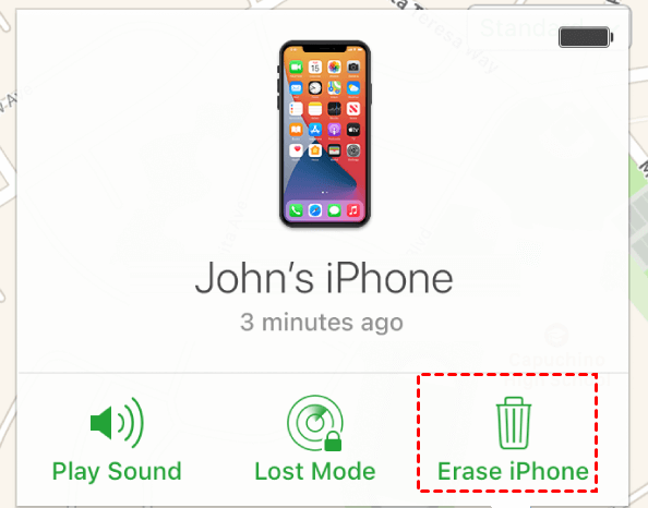 Erase Iphone From Icloud