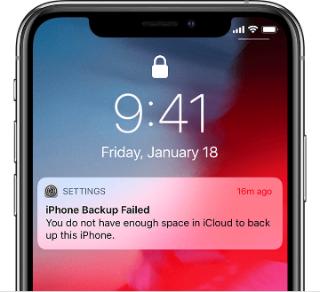 Iphone Backup Failed