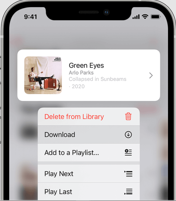 Download Song In Apple Music