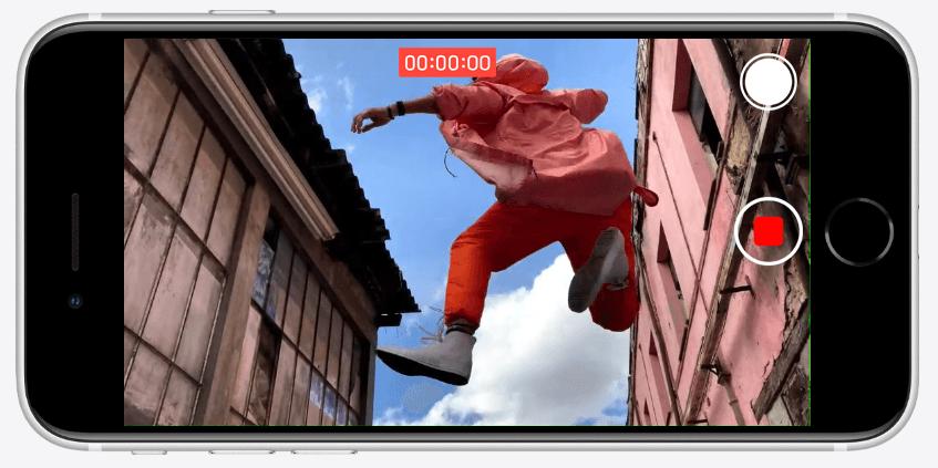iPhone SE 2020 Recording