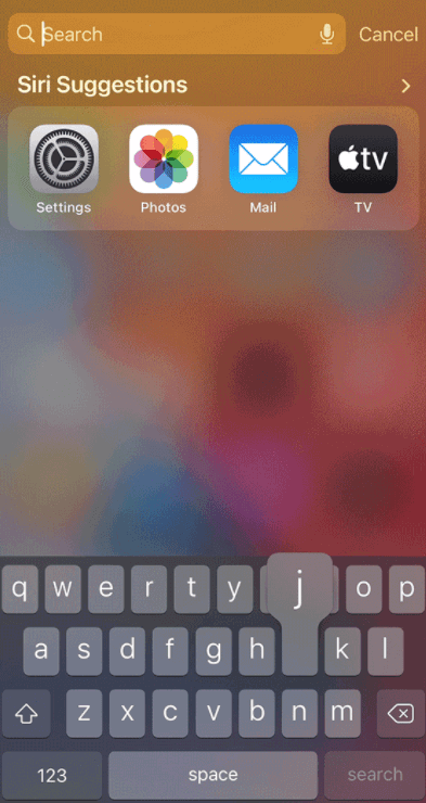 Search Apps On Iphone