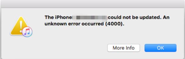 Error 4000