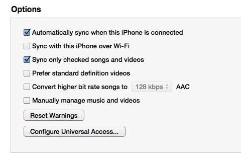 Turn Off Automatically Sync In Itunes