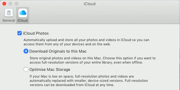 Download Originals To Mac