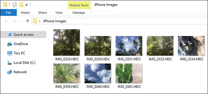 View HEIC Files on Windows