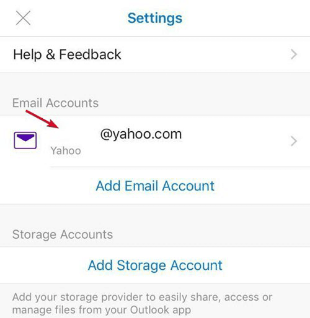 Sync iPhone Contacts to Outlook via Settings