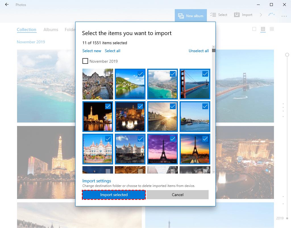 Transfer Photos from iPad to Computer via Photos App