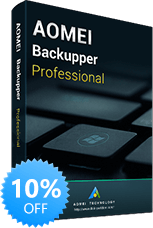 AOMEI Backupper Professional Edition 10% OFF