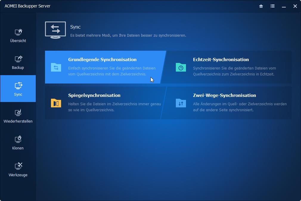 Dateisynchronisierung
