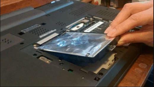 Festplatte entfernen