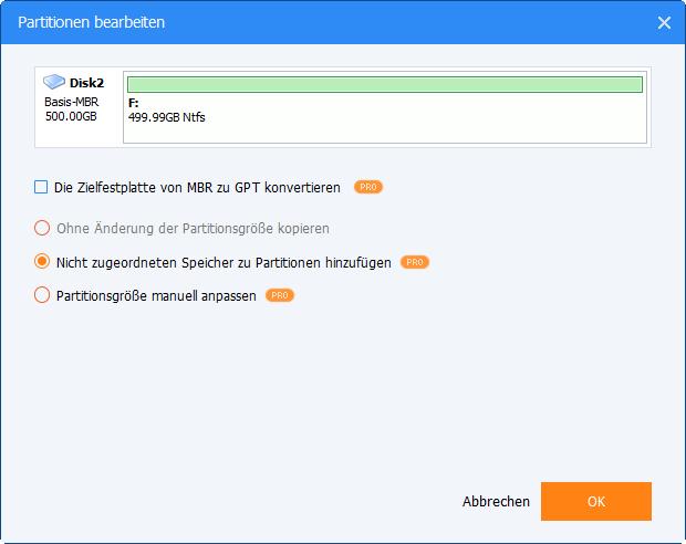 1TB SSD bearbeiten