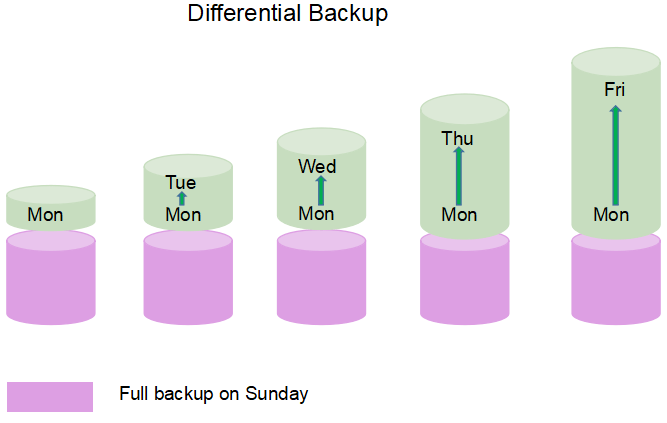 Daily Differential Backup