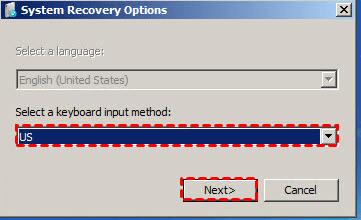 Keyboard input method