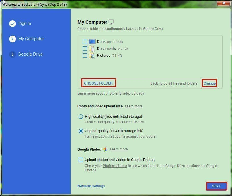 Sync Local Folder To Google Drive