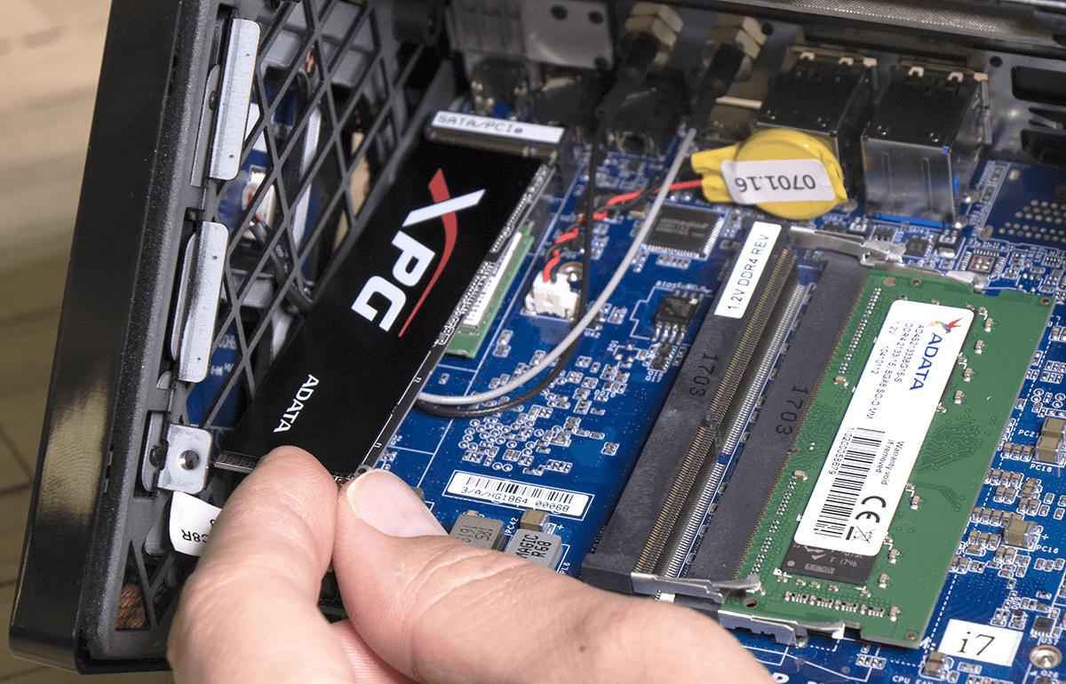 Installieren Sie die M2 SSD