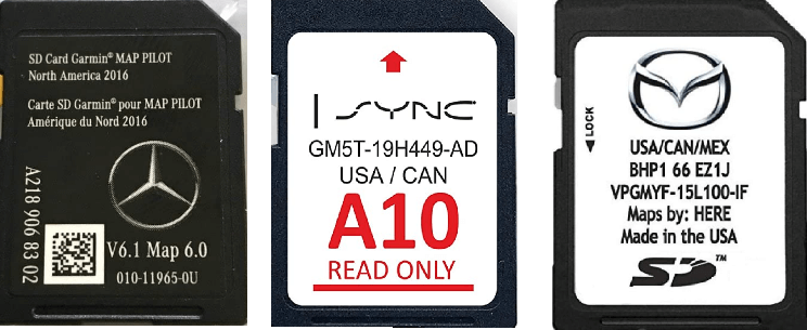 Navigation SD Card