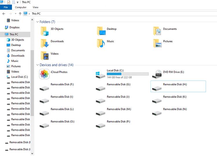 Ghost Hard Drive Windows 10
