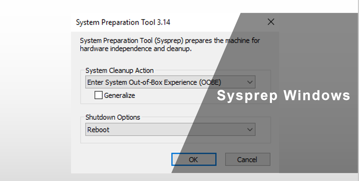 Sysprep Windows