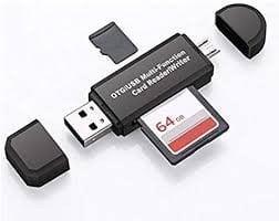 OTG SD Card Reader