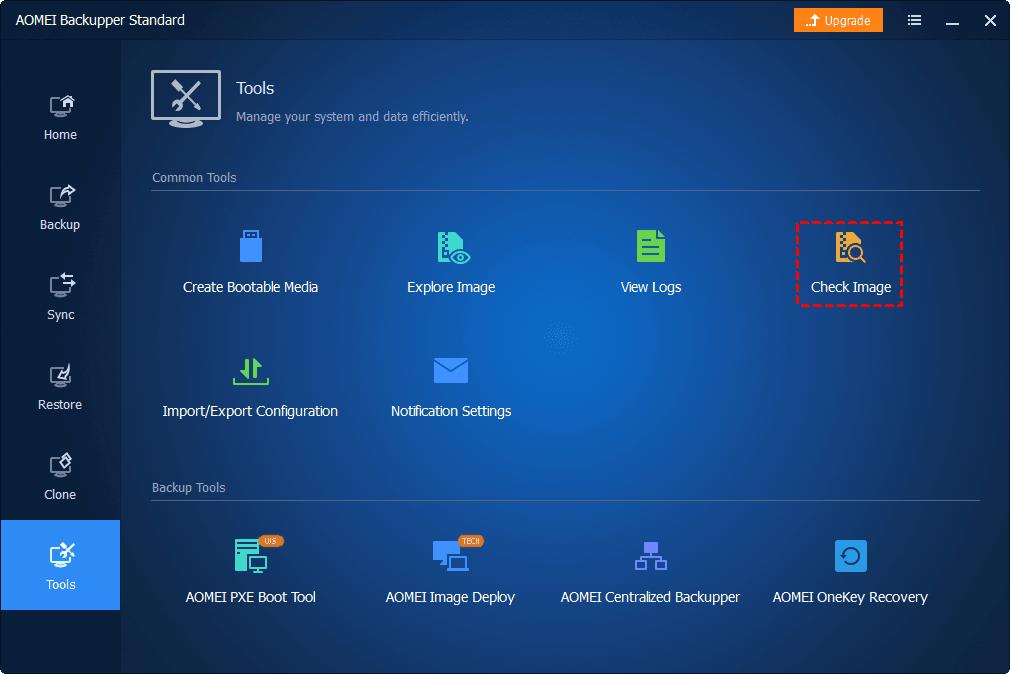 Tools Check Image