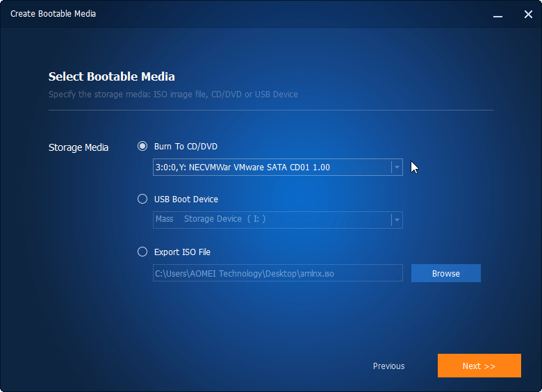 Create Bootable CD/DVD or USB Flash Drive Based on Windows PE or Linux