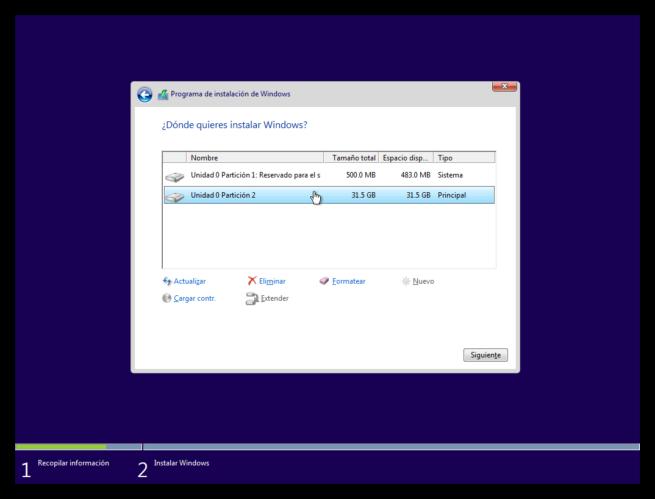Instalar Windows 10 3