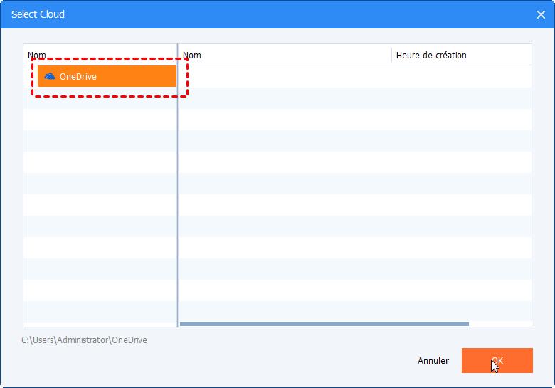Sync Server avec Onedrive
