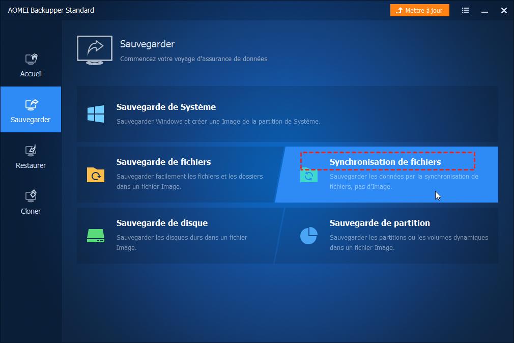 Synchronisation de fichiers