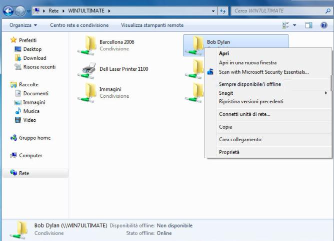 Sempre disponibile i file