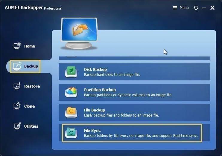 amazon drive sync folder location