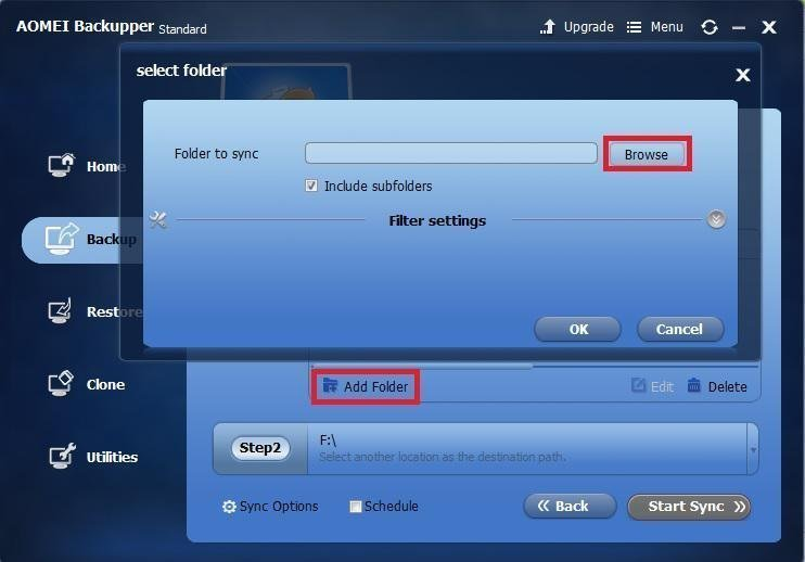 how to add folder to one drive