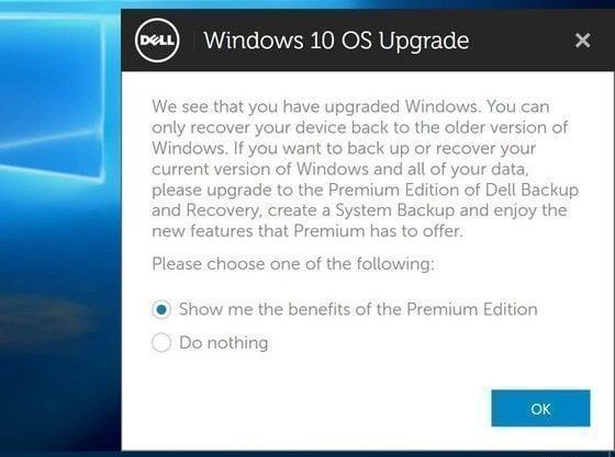 Dell Backup