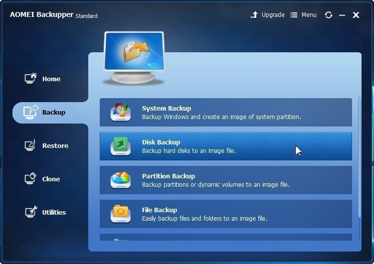 Backup Disk