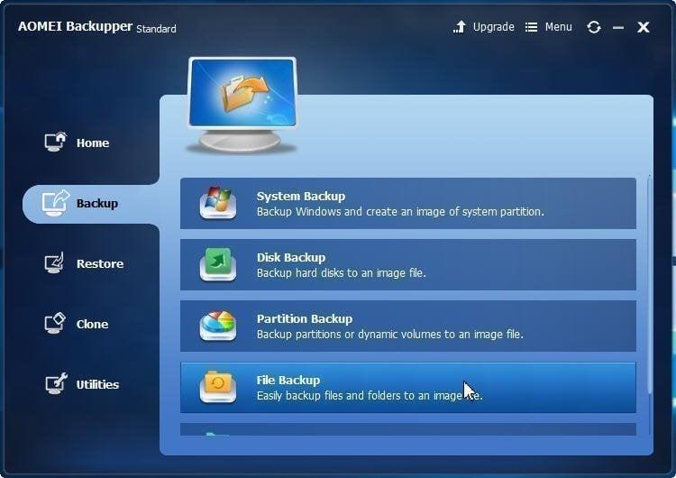 Files Backup