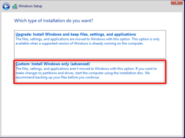How to Install Windows 10 from Command Prompt?